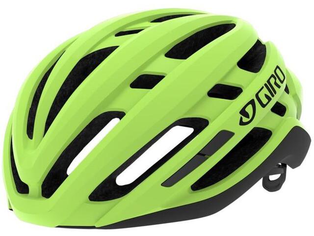 Giro Agilis Kask, highlight yellow